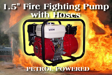 1.5 inch Honda petrol powered Fire Fighting water pump for sale
